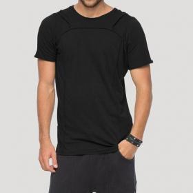 "Camiseta con capucha \""Shelter\"", Negro"