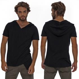 "Camiseta con capucha \""Vipa\"", Negro"