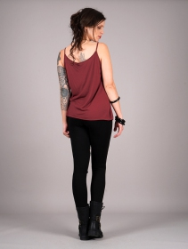 "Camiseta con tirantes \""Lotus Ciryandil\"", Rojo"