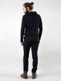 "Camiseta de manga larga \""Moëkko\"", Negro"