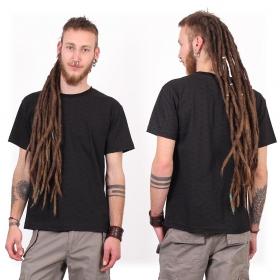 "Camiseta de mangas cortas \""Amun Swastika\"", Negro"