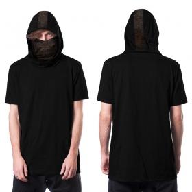 """Camiseta de mangas cortas \""""Kusari\"""", Negro"""