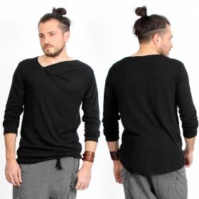 """Camiseta de mangas largas \""""Altoga\"""", Negro"""