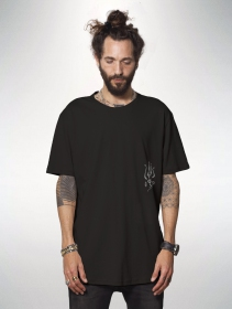 "Camiseta estampada \""Fisherman\"", Negro"