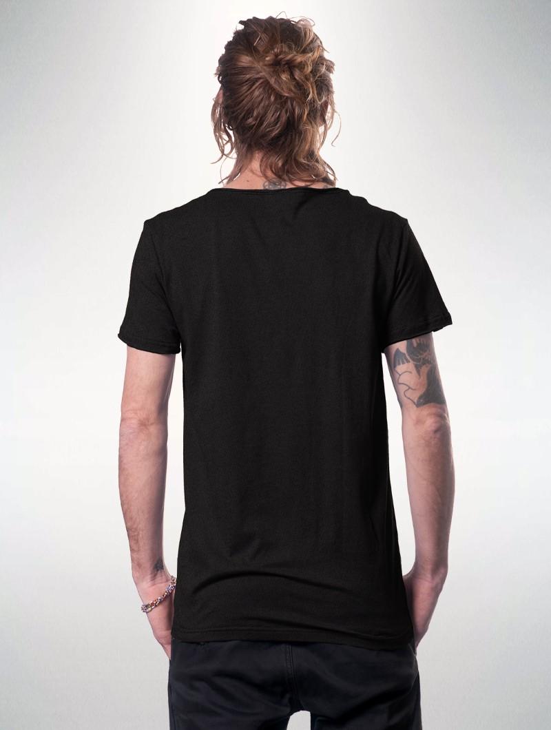 "Camiseta estampada \""Healing\"", Negro"