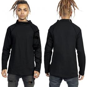 "Camiseta grueso \""Babylon\"", Negro y dorado"