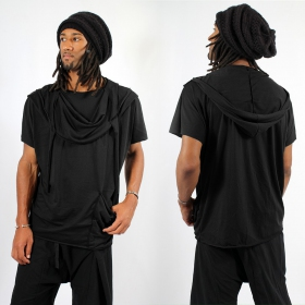 """Camiseta I-Ewer \""""Kusumo\"""", Negro"""