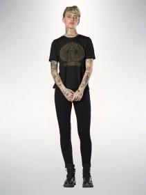 """Camiseta manga corta \""""Horus\"""", Negro"""