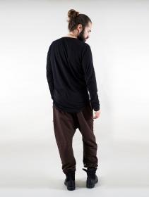 """Camiseta manga larga \""""Vulcan\"""", Negro"""
