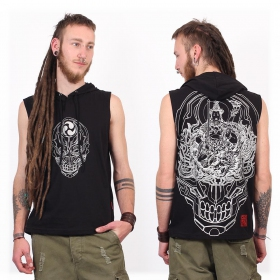 "Camiseta Shaman \""Manjus\"", Negro"