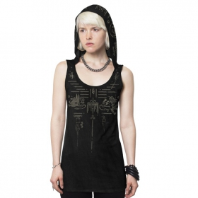 "Camiseta sin mangas \""Animag\"", Gris oscuro"