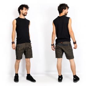"Camiseta sin mangas \""Blended\"", Negro"