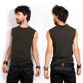 """Camiseta sin mangas \""""Blended\"""", Verde caqui"""