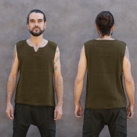 "Camiseta sin mangas \""Core Ninja Twill\"", Verde caquí"