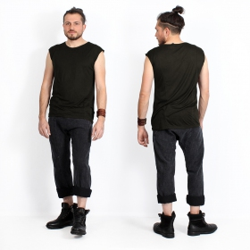 """Camiseta sin mangas \""""Kinetic Basic\"""", Negro"""