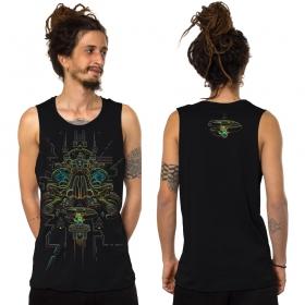 "Camiseta sin mangas \""Oracular\"", Negro"