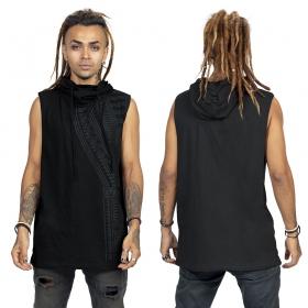"Camiseta sin mangas \""Tikal\"", Negro"