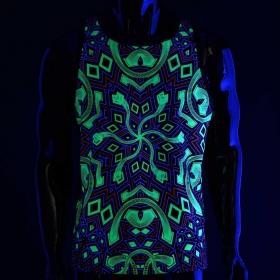 "Camiseta sin mangas Public Beta \""Mastermind UV\"", Negro"