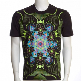 "Camiseta UV ""Aquatic\"", Negro"
