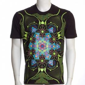 """Camiseta UV \""""Aquatic\"""", Negro"""