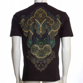 "Camiseta UV \""Incarnation\"", Negro"