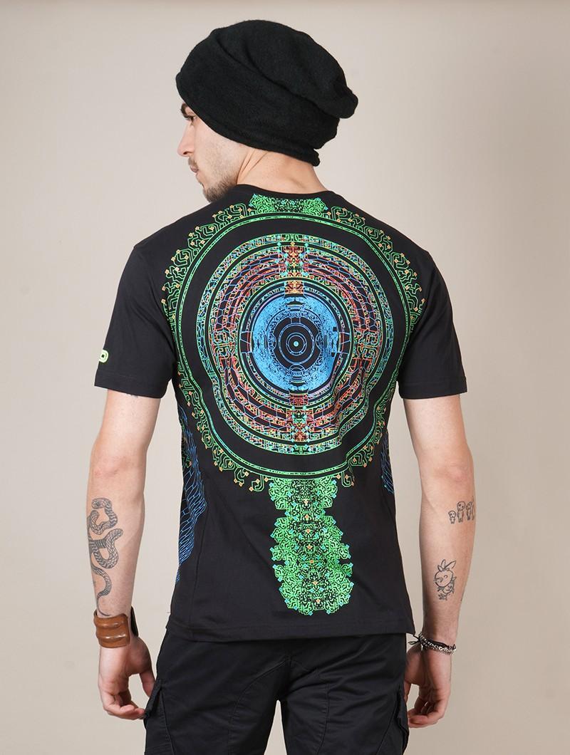 "Camiseta UV \""Vibe\"", Negro"
