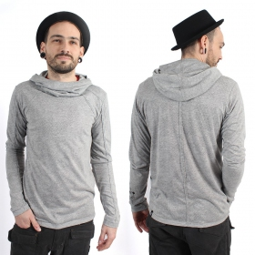 "\\\""Camoline\\\"" thin sweatshirt, Grey"
