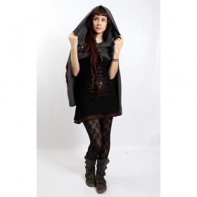 "Cape hood ""Magik\"", Dark grey"