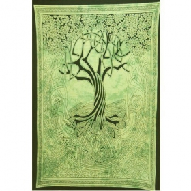 """Celtic Tree of Life\"" hanging, Verde"