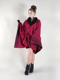 """Chaqueta kimono \""""Melian\"""", Burdeos"""