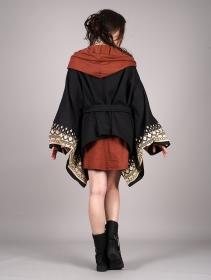 "Chaqueta kimono \""Melian\"", Negro"