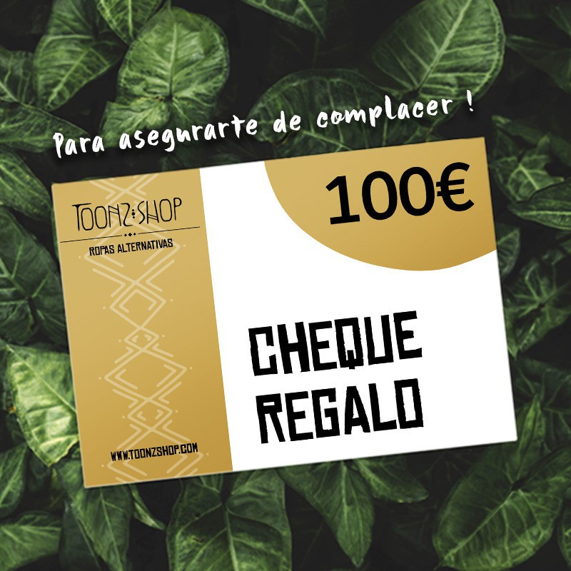 Cheque regalo de 100 €