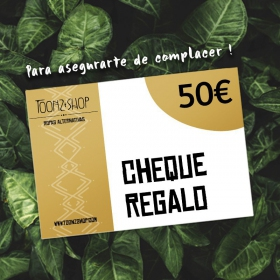 Cheque regalo de 50 €