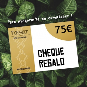 Cheque regalo de 75 €