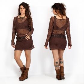 """Cintura \""""Hyppolita\"""", Cuero marrón"""