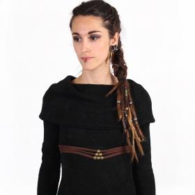 """Cintura \""""Nazaëe\"""", marrón"""