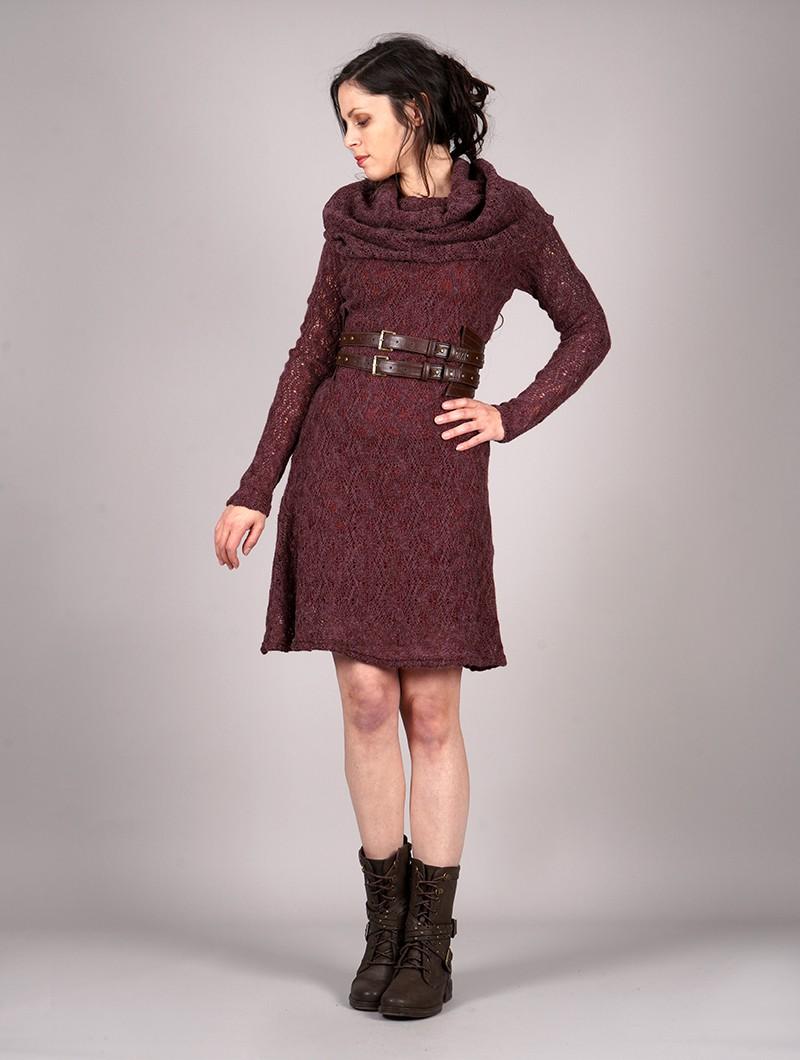 """Cinturón \""""Aerandir\"""", Cuero sintético marrón"""
