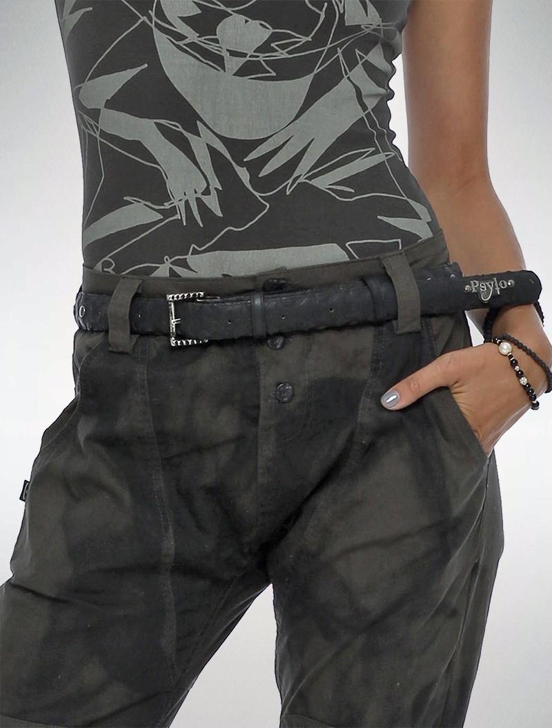 """Cinturón \""""Trycycle\"""", Negro"""