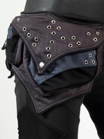 """Cinturón \""""Venus\"""", Negro y gris"""