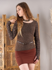 """Cinturón para la cintura \""""Duinhir\"""", Cuero sintético marrón"""