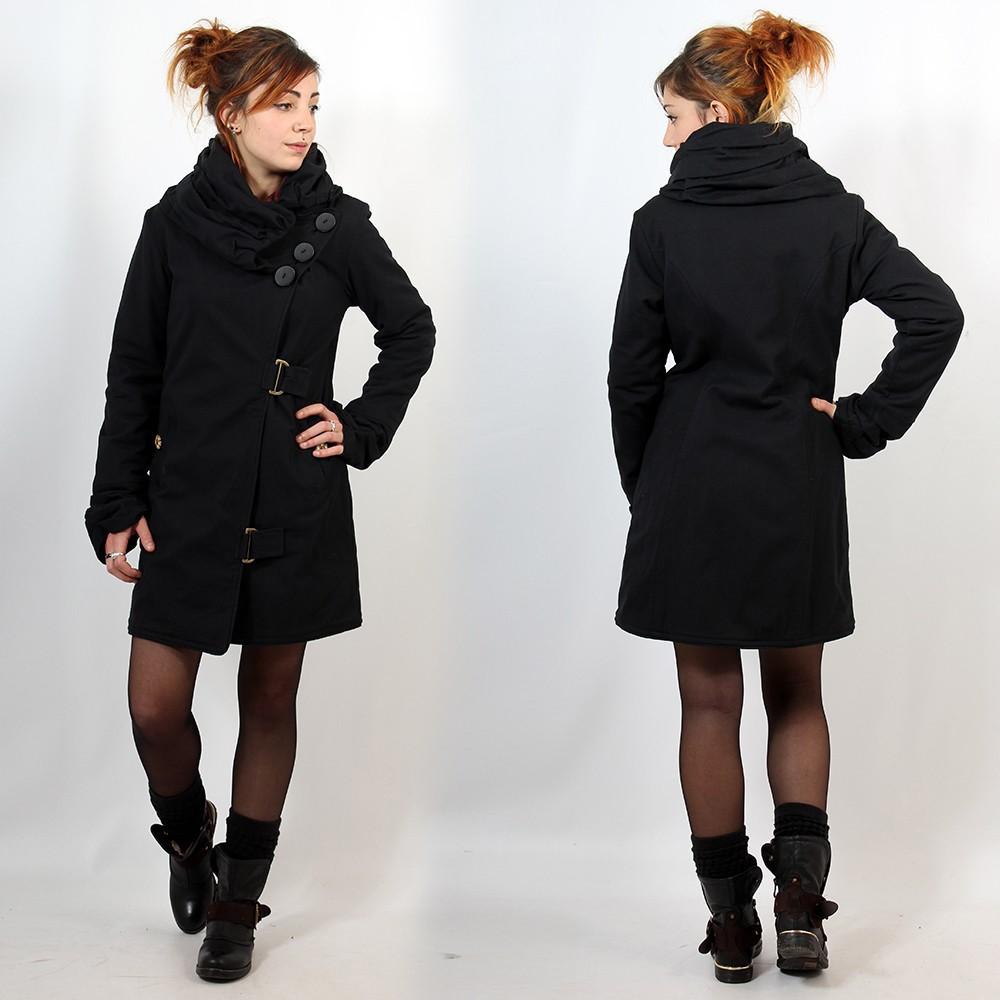 """Coat \""""Hira\"""", Black"""