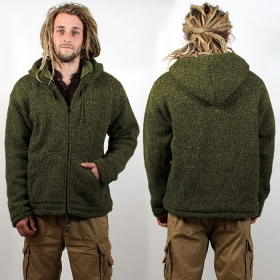 "Coat Macha \""Omkar Wool and Fleece\\\"", Kaki"