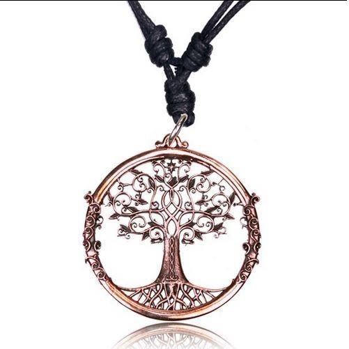 "Colgante \""Tree of Life Peetal\"""