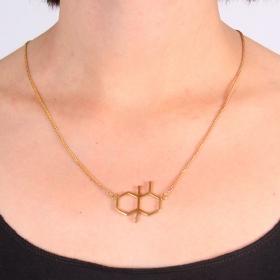 "Collar \""Olor de Lluvia\"", Molécula Geosmina"