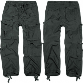 "Combat trousers surplus \""cargo pure\\\"",  anthracite"