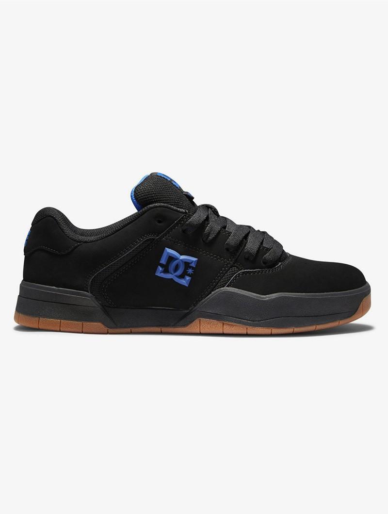 DC Shoes Central, Cuero nubuck negro