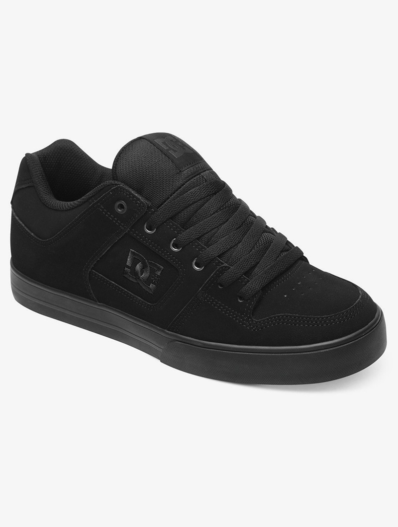 DC Shoes Pure, Cuero negro