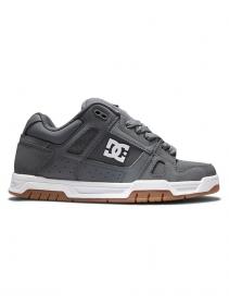 DC Shoes Stag, Cuero gris y negro