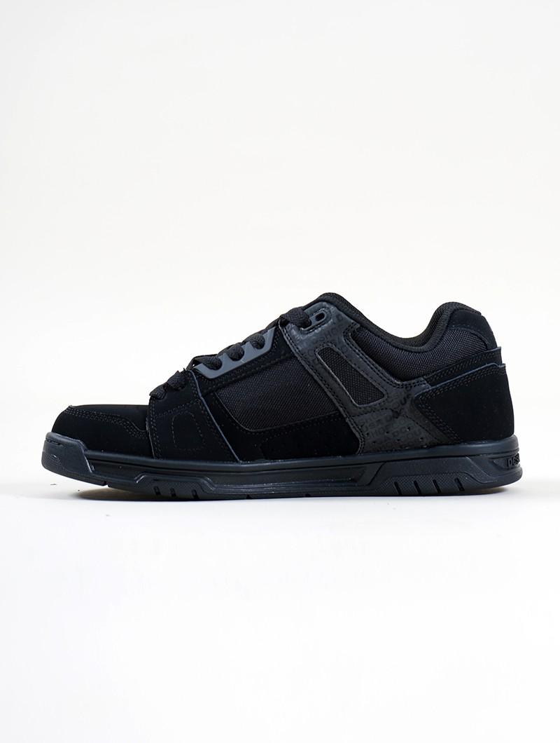 DC Shoes Stag, Cuero negro