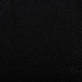 "\""Diamond\"" top, Black with Mayan print"